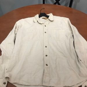 Urban Outfitters Stapleford Creme Button Down